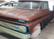 Chev C10 Patina Paint