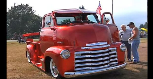 1952 Chevy Cabover pickup