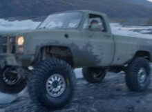Chev pickup in Alaska